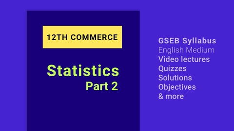 12th Statistics Part 2