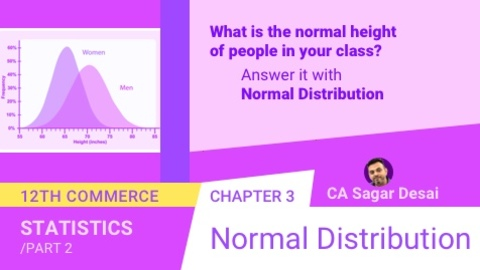 Chapter 3: Normal Distribution
