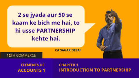 Chapter 1: Introduction to Partnership