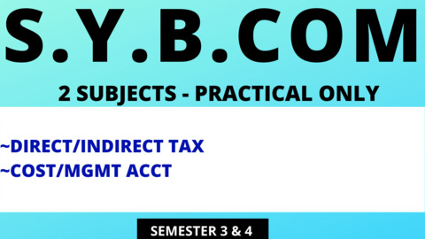 SY BCOM - TWO SUBJECTS