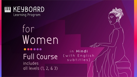 Keyboard Learning Program for Women