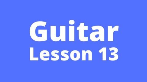 Guitar Lesson 13: Kal Ho Na Ho with chords