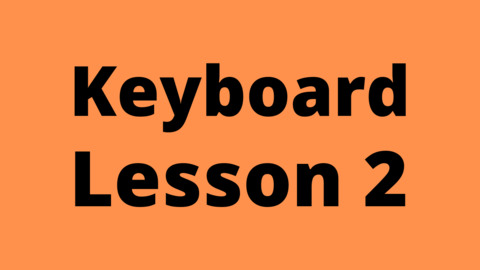 Keyboard Lesson 2: 3 Octaves