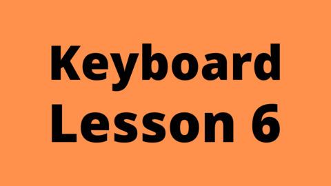Keyboard Lesson 6: Octaves and 8va Notations