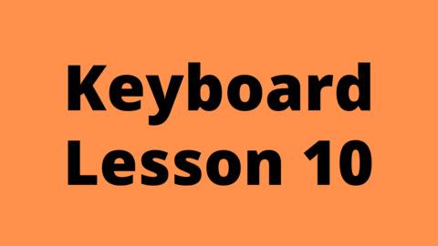 Keyboard Lesson 10: Ornamental Techniques