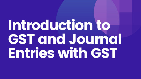 Introduction to GST