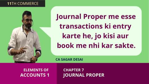 Journal Proper