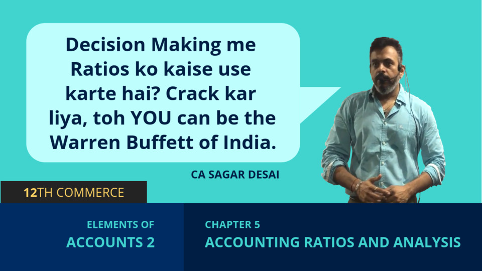 Chapter 5: Accounting Ratios and Analysis