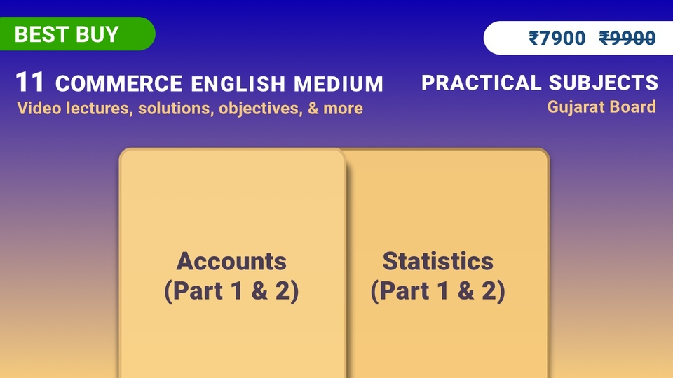 11th Accounts & Statistics (Full Practical Subjects Pack)