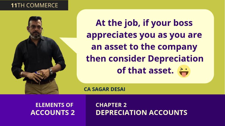 Chapter 2: Depreciation