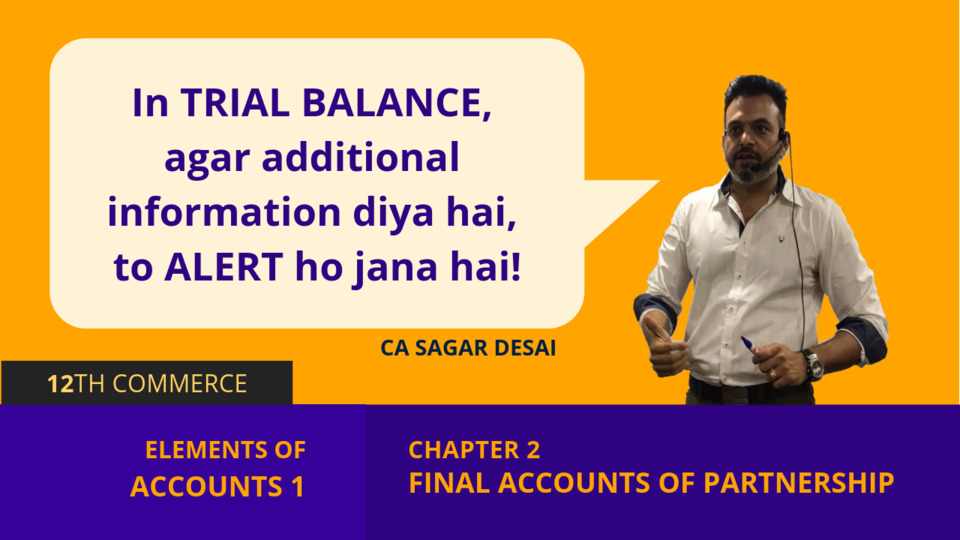 Chapter 2: Final Accounts of Partnership