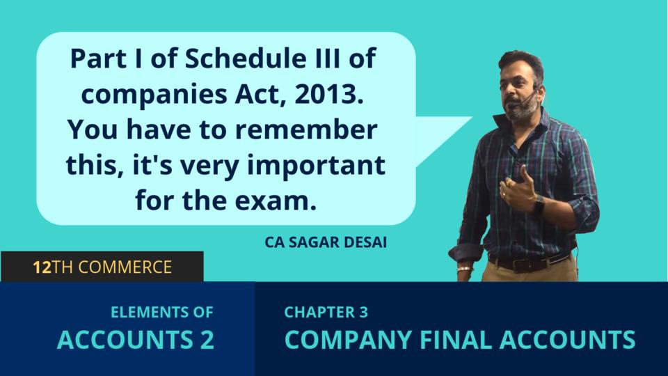 Chapter 3: Company Final Accounts
