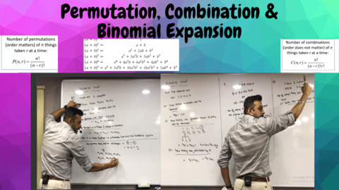 Ch 6 Permutation, Combination & Binomial Expansion