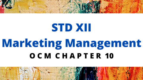 XII - OCM - CH - 10 Marketing Management