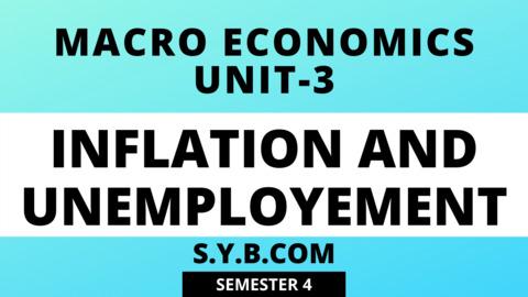 Unit-3 Inflation