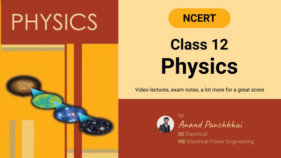 NCERT Class 12 Physics