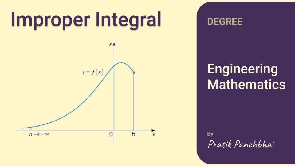 Improper Integral