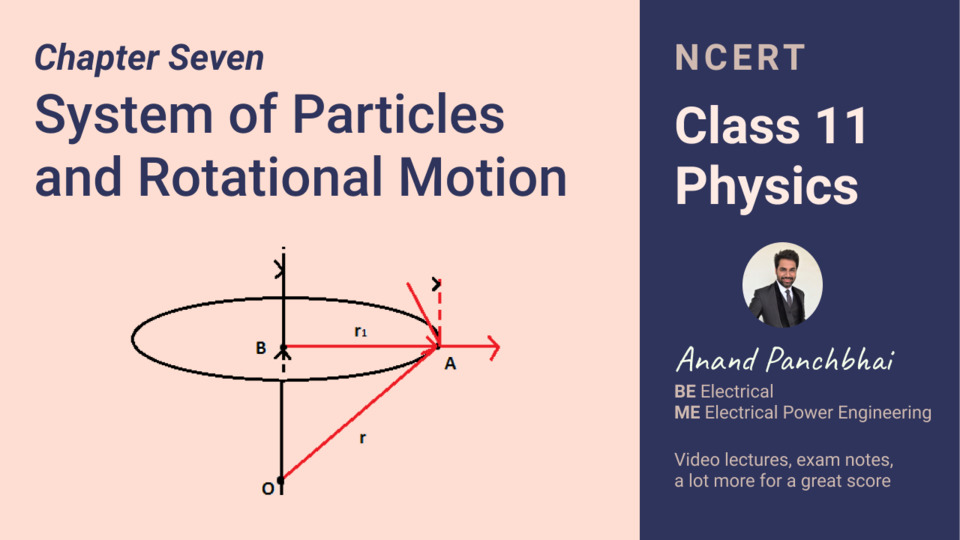 Chapter 07: System of particles and rotational motion