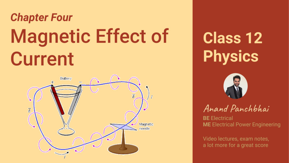 Chapter 04: Magnetic Effect of Current