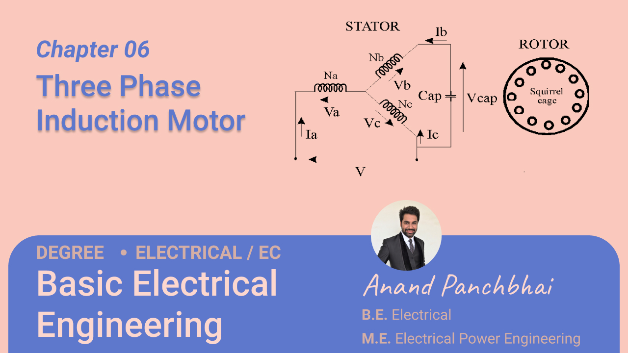 Chapter 06: Three Phase Induction Motor
