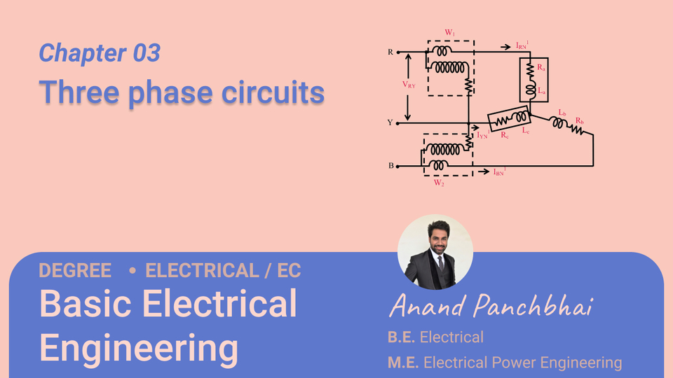 Chapter 03: Three phase circuits
