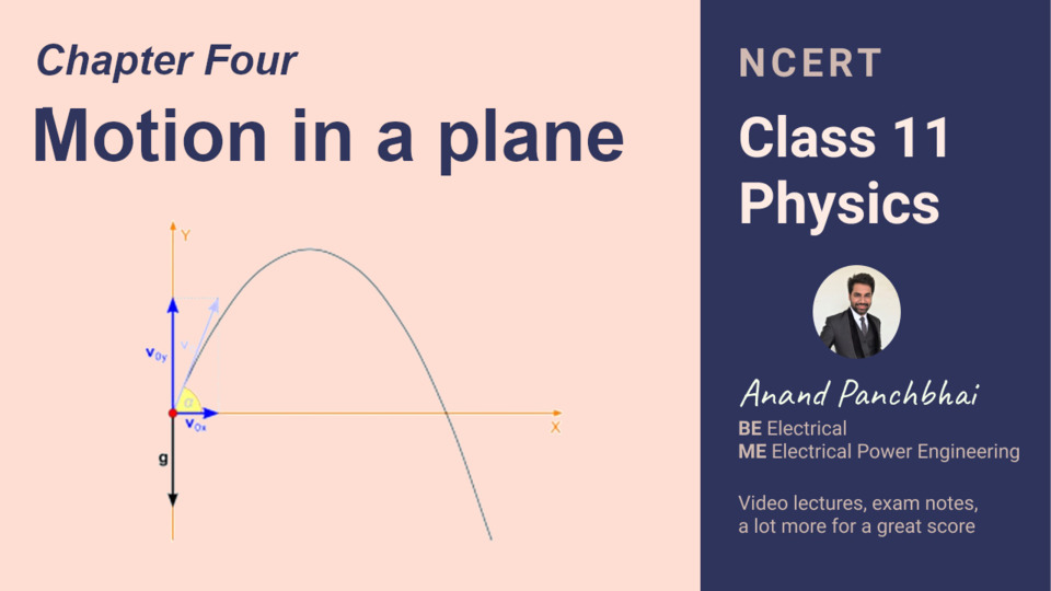 Chapter 04: Motion in a plane