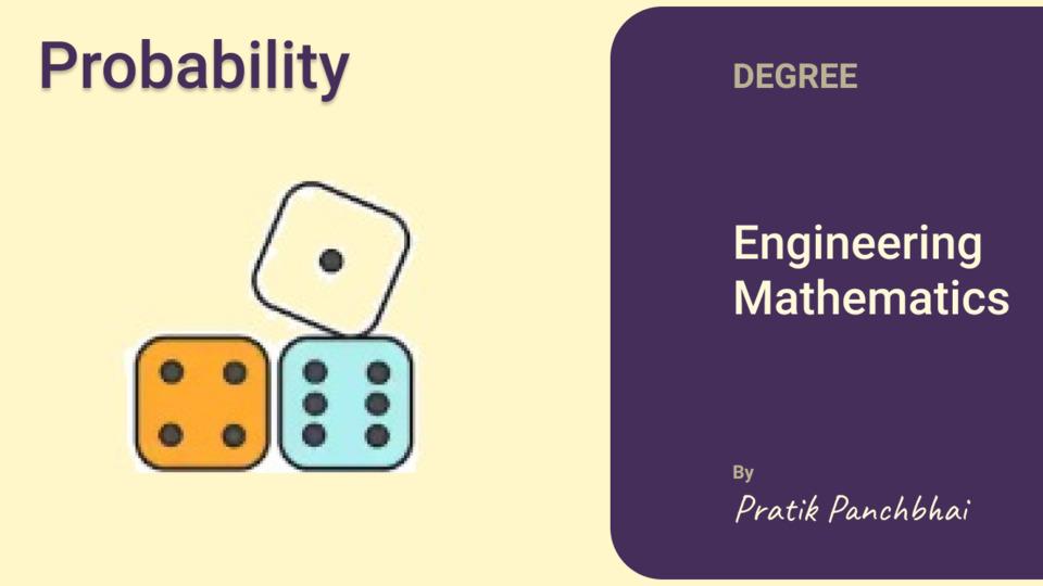 Probability (Maths 3)