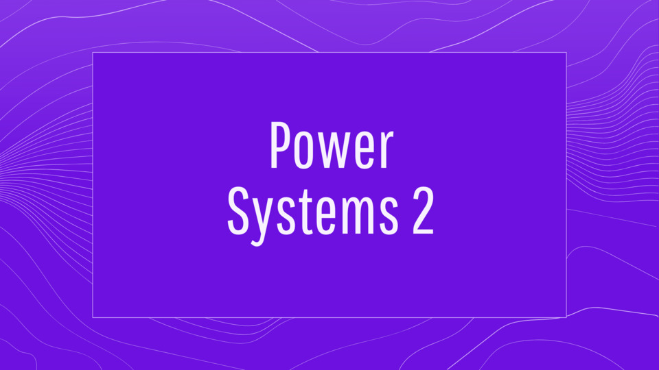 Power Systems 2