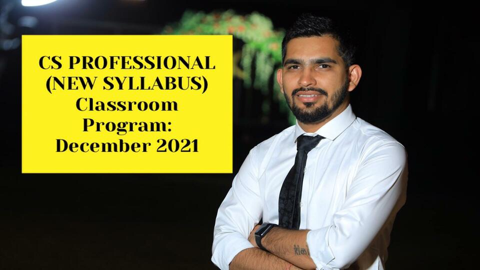 CS Professional - All Subjects - Classroom Program - December 2021
