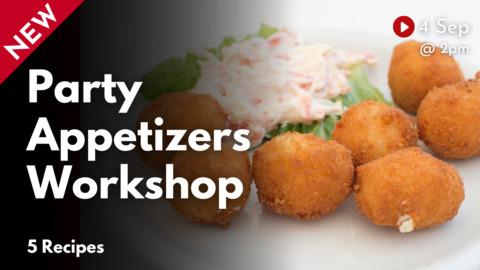 Party Appetizers Workshop