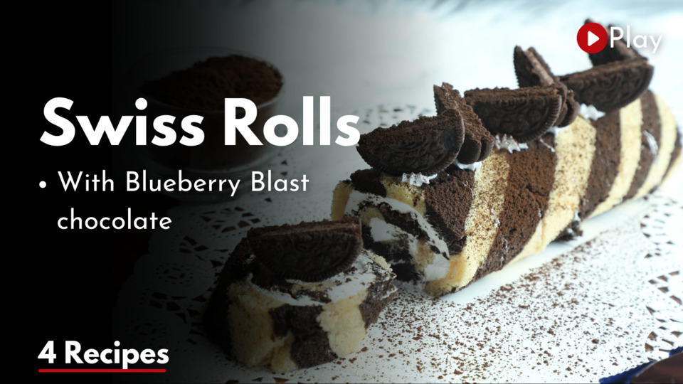 Swiss Rolls & Blueberry Blast Chocolate