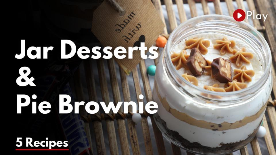 Jar Desserts & Pie Brownie