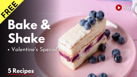 Free Valentine Day Special Bake & Shake class