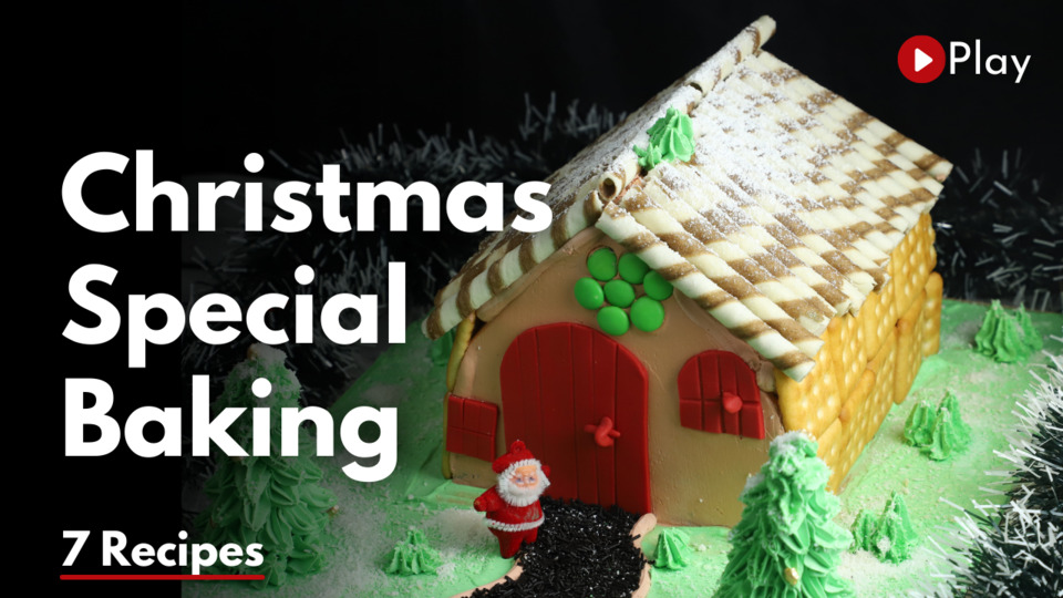 LIVE Christmas special baking class