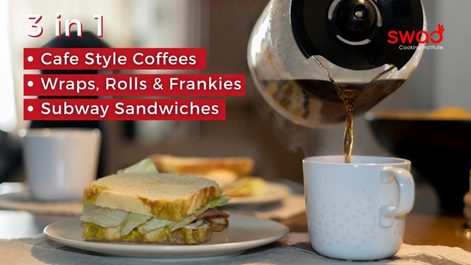 Coffee, Wraps & Sandwiches Combo