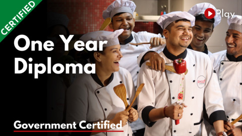 1 Year Diploma in Food Production
