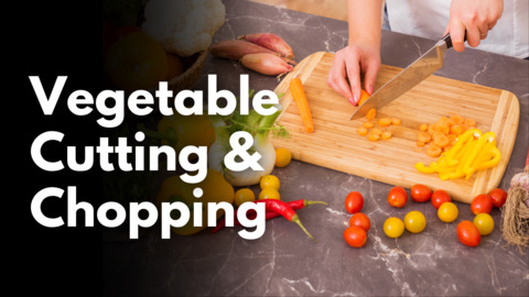 Professional Vegetable Chopping Cutting