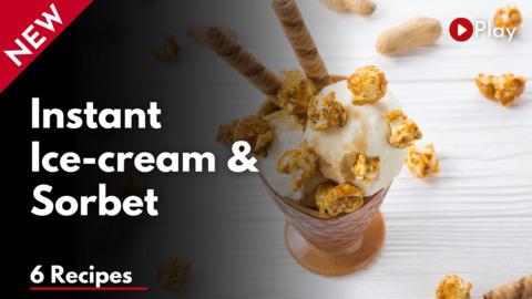 Instant Ice-cream & Sorbet workshop