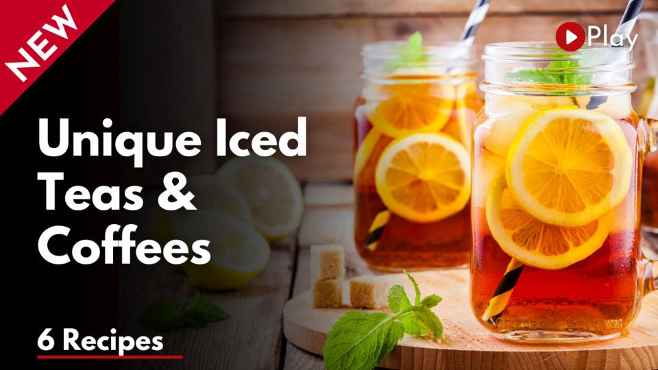Unique Iced Teas & Coffees workshop