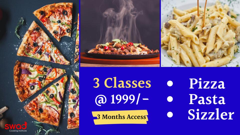 Pizza, Pasta & Sizzler Combo