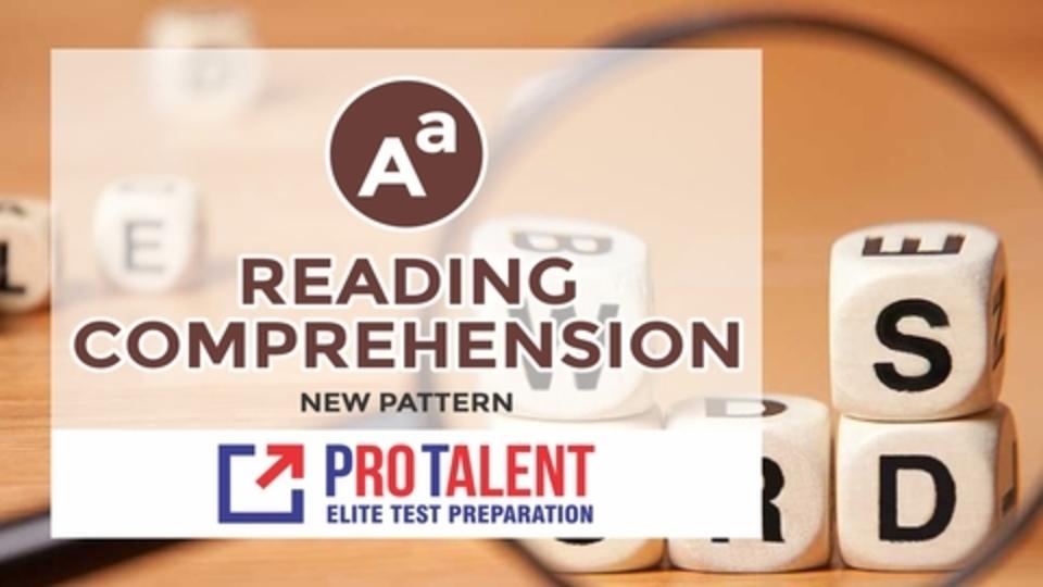 Reading Comprehension & English Usage