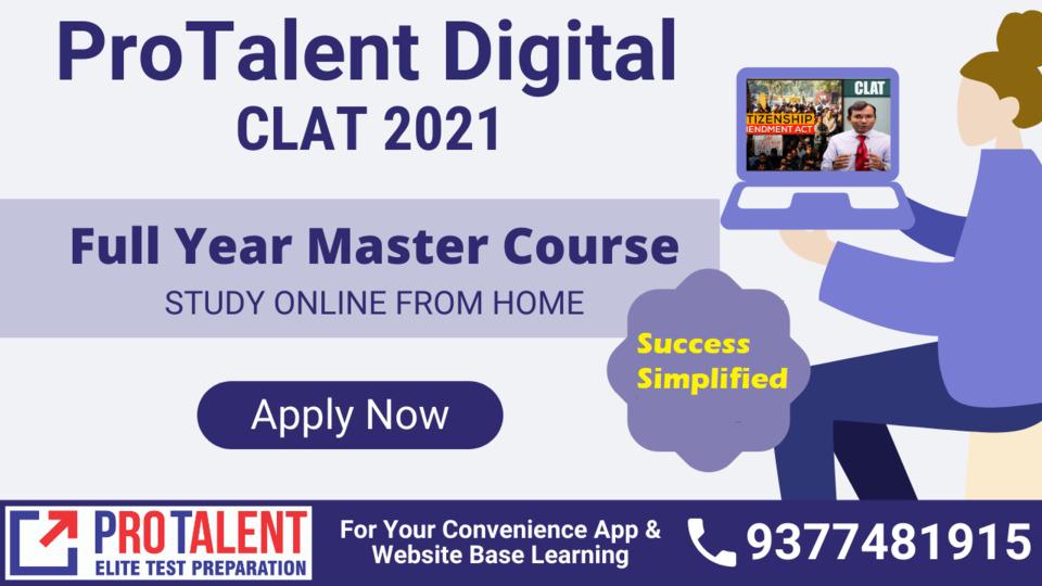 CLAT 2021 Plus