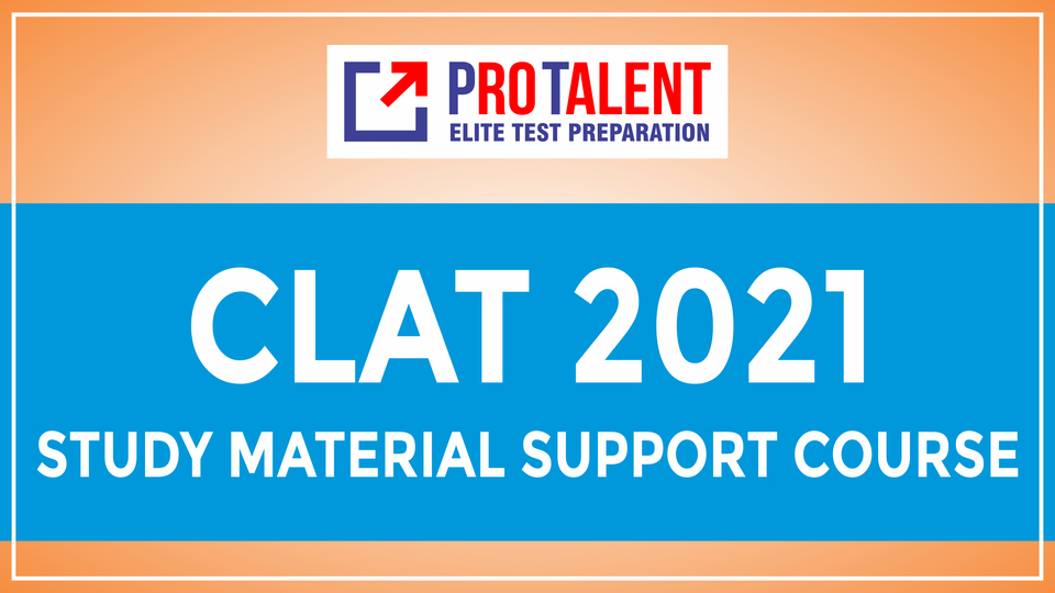 CLAT 2021 Study Material Support Course