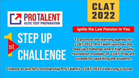 1st Step Up Challenge for CLAT 2022
