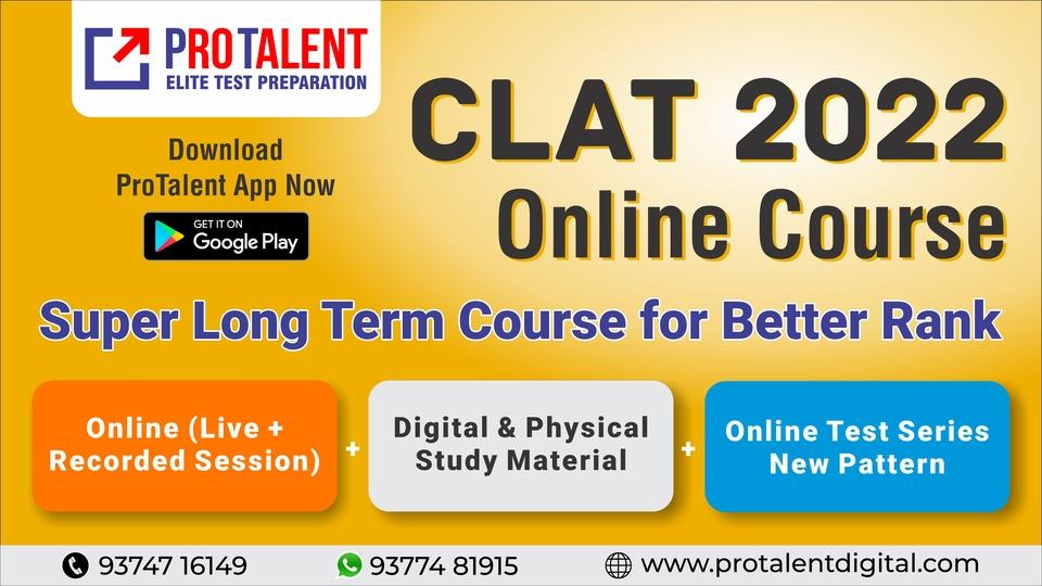 CLAT 2022 Super Long Term Course