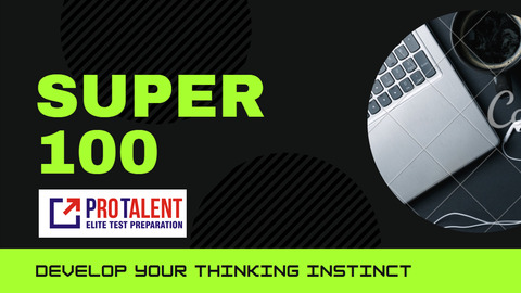 SUPER 100 for CLAT 2021