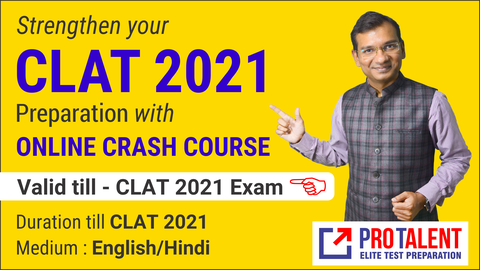 Crash Course for CLAT 2021 for Starters