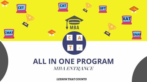 ALL IN ONE PROGRAM : MBA ENTRANCE