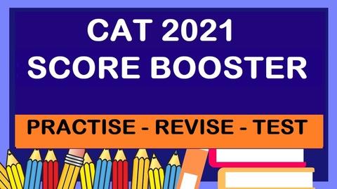 CAT 2021 SCORE BOOSTER