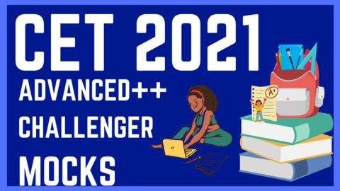 CET 2021 ADVANCED++ & CHALLENGER MOCKS